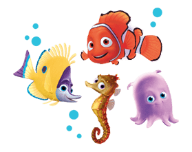 Finding Nemo Sticker 28