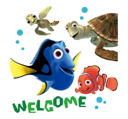 Finding Nemo Sticker 36