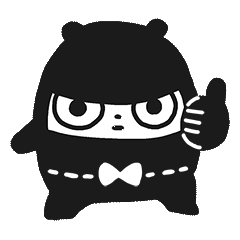 Ninja Bear Stickers 8
