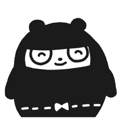 Ninja Bear Stickers 16