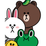 LINE Characters: Screen Hogs Stickers 1