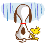 SNOOPY & Woodstock Stickers 2