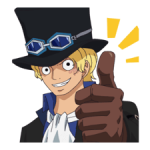 ONE PIECE Stiker Commemorative 1