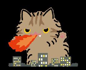 Kutsushita Nyanko: What a Meowthful Stickers 1