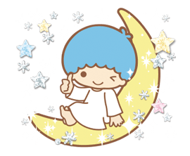 Little Twin Stars: Twinkly Stickers 1