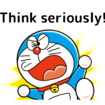 Doraemon: Quotes Stickers 1