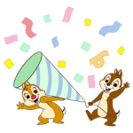 Chip 'n' Dale Stickers 1
