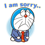 Doraemon op de Baan Stickers 1