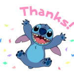 Stitch (Rowdy) Stickers 1