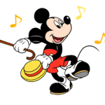 Mickey Mouse Pegatinas 5