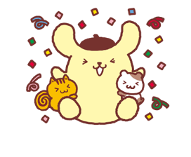 Pompompurin Stickers 2 1