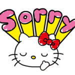 Hello Kitty's Quick Antwoorden! stickers 1