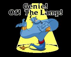 Genie Klistermärken 1