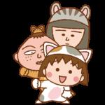 Chibi Maruko-Nyan Nálepky 1