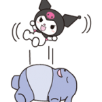Kuromi สติ๊กเกอร์ 1