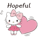Hello Kitty Stiker Sopan 1