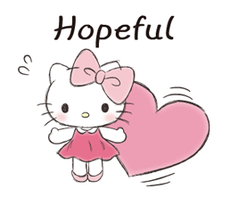 Hello Kitty Polite Stickers 1