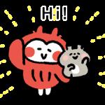 Kanahei's Komimizuk Stickers 1
