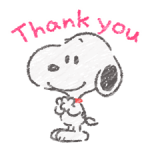 Cute Crayon Snoopy Stickers 1