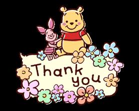 Winnie the Pooh Speech Balloons Stickers 1