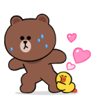 LINE Characters: Cute and Soft Stickers 1
