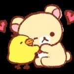 Rilakkuma~Kiiroitori Diary~ Stickers 1