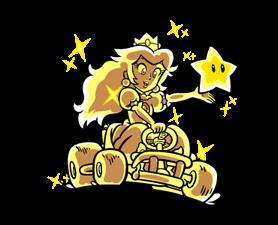 Mario Kart Stickers 1