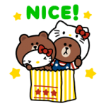 LINE Friends & Hello Kitty 1