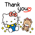 Hello Kitty đáng yêu Stickers 1