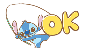 Stitch Cuteness Stickers 1