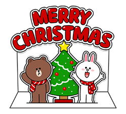 Brown Cony Greeting 1