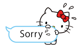 Hello Kitty Pouncing Stickers 1