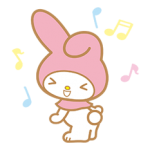 My Melody Stickers 16