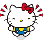 Hello Kitty 2 autocollants 1