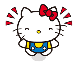 Hello Kitty 2 Stickers 1