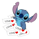 Stitch Mayhem Stiker 1