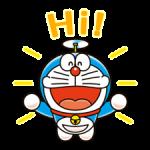 Doraemon наклейки 3 1