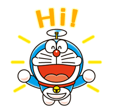 Doraemon Stickers 3