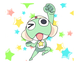 Keroro Stickers 10