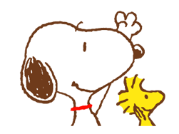SNOOPY & Woodstock Stickers 11