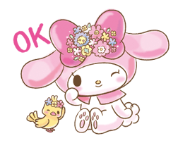 My Melody: Too Cute for You! Stickers 10