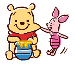 Winnie The Pooh Stickers 10