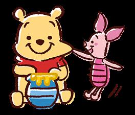 Winnie the Pooh Adesivi 10