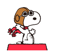 Snoopy in Disguise klistremerker 10