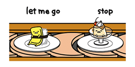 gudetama Stickers 10
