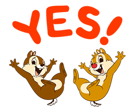 Chip 'n' Dale Stickers 10