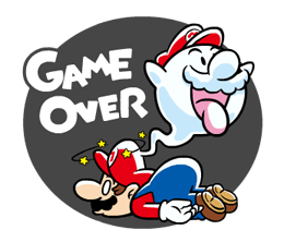 Talking Super Mario Stickers 10