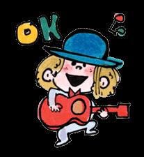 Ado Mizumori Snappy Stiker 10