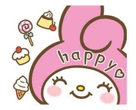 My Melody: Sweet as Can Be! Stickers 14