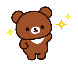 Rilakkuma~Korilakkuma with a new friend~ Stickers 10